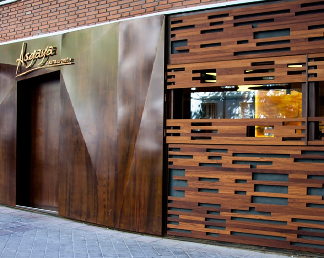 Restaurante Asgaya – Madrid