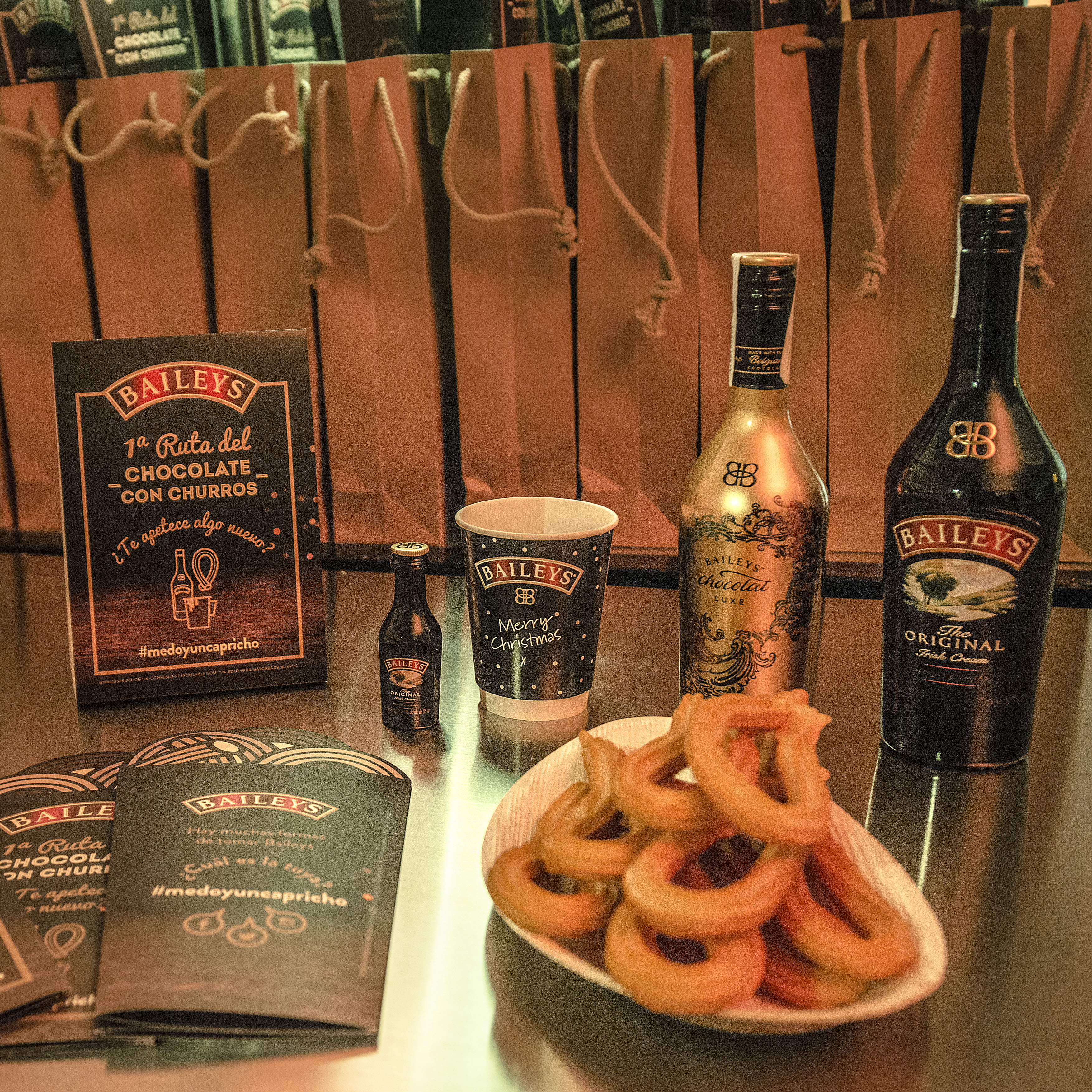 I Ruta Baileys de chocolate con churros en Madrid